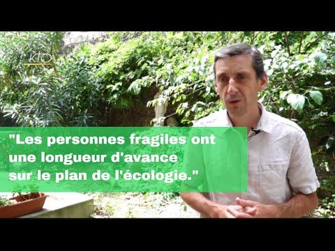 """Cyril Douillet : """"Les personnes fragiles ont une longueur d'avance sur le plan de l'écologie"""""""