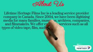 Top 4k film digitizing, Visit Lifetime Heritage Films Inc