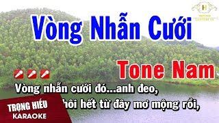 karaoke-vong-nhan-cuoi-tone-nam-nhac-song-trong-hieu