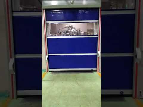 High Speed Rapid Roll Up Door