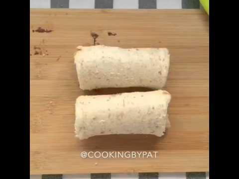 Video Kreasi Roti Tawar, Pisang, telur ayam, nuttela