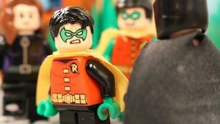 Lego Batman Meets Damian Wayne