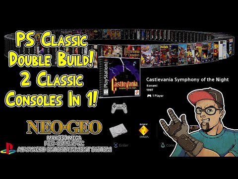 Playstation One Classic with RetroArch and BleemSync - Play NES