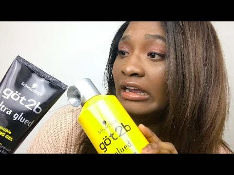 Lay Your Hair Without GOT2B GLUED using OMGHerHair 360 Wig