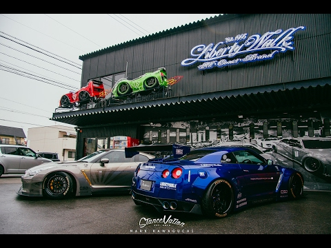 Liberty Walk Awesome Stuff Factory | LB WORKS