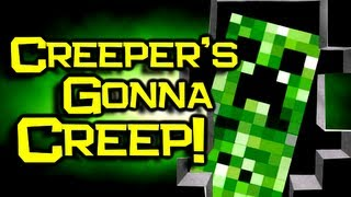 """♪ """"Creepers Gonna Creep"""" Song - Minecraft Original Song & Music Video"""