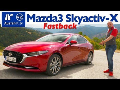 🔥🔥🔥 2019 Mazda3 Fastback Skyactiv-X 2.0 M Hybrid - Kaufberatung, Test deutsch, Review Fahrbericht