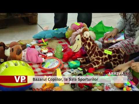 Bazarul Copiilor, la Sala Sporturilor