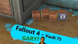 KEVIN'S ARCADE: Fallout 4 - Vault 75 GARY?
