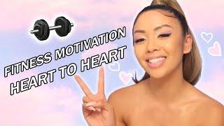 Fitness Motivation + 🌸 Pastel Eye Makeup  | Liane V