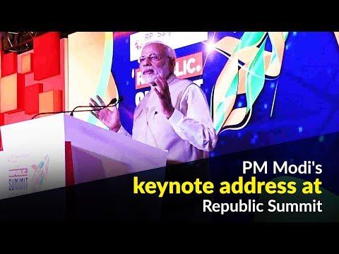 PM Modi's keynote address at Republic Summit