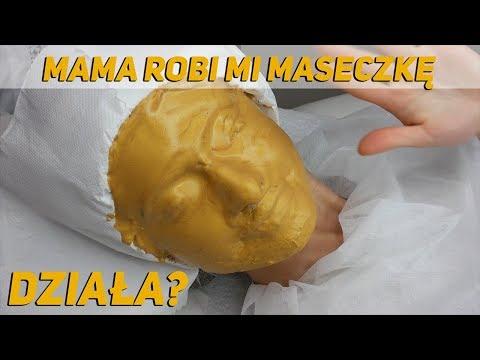 Przywrócenie maskę do włosów zniszczonych matki i macochy i korzeń łopianu