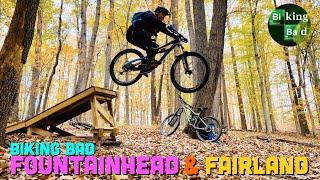 Biking Bad and Hitting the jumps at Fairland