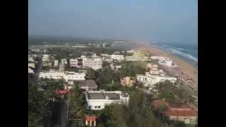 preview picture of video 'Ariel view Gopalpur on Sea, Ganjam'