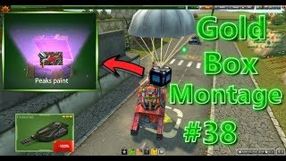 Tanki online - Gold Box Montage #38 | Making M4 Fire ?! Cosmonautics Day!