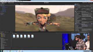Unite 2013 - Real-time facial animation with Mixamo and Mecanim