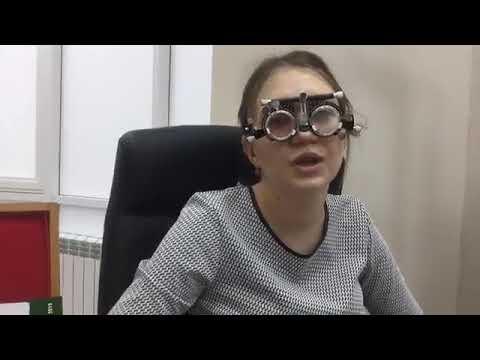 Прямой эфир c практического занятия по оптометрии в Тюмени