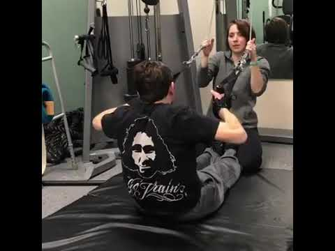 Customer Video: Assisted pull-ups with a disability | The Active Hands Company