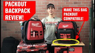 Best tool backpacks? Review: Milwaukee PACKOUT Backpack & Ultimate Jobsite Backpack Adapter