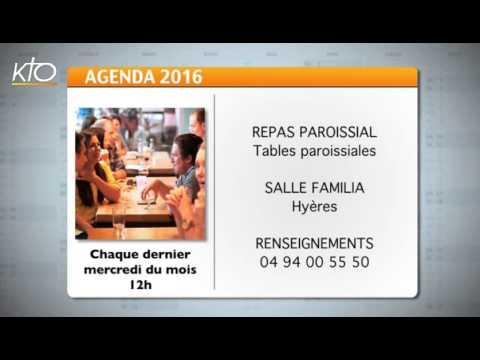 Agenda du 18 janvier 2016