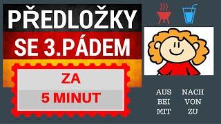 Němčina - předložky se 3. pádem se naučíte za 5 minut, Zuska Vám pomůže :)