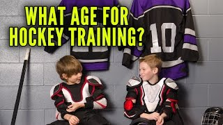 When Should Youths Start Hockey Training?