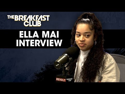 Ella Mai On Being Discovered By DJ Mustard, Following The Success Of Boo'd Up + More - Breakfast Club Power 105.1 FM