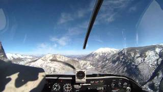 RV-6 Mountain Flying - McCluer Pass