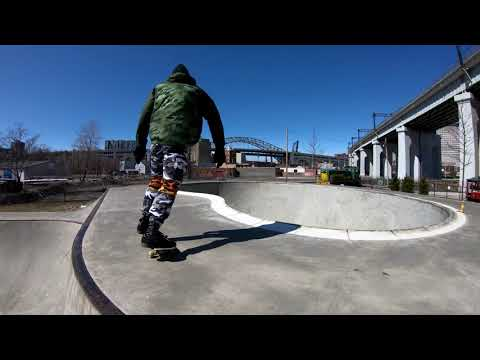 Crooked River Skate Park | Cleveland Ohio | 4K
