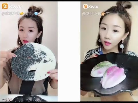 Sütlü Buz Yemek Videoları - #55 ASMR (Frozen Milk Eating)
