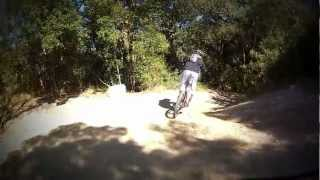 preview picture of video 'Gopro Hero 2 btt - Zona Òrrius y La Roca'