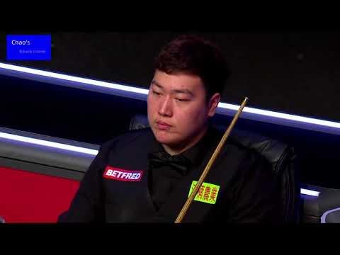 Yan bingtao vs. John Higgins in 2021 snooker masters final (second half) 2021大师赛 决赛(下半场) 颜丙涛 vs 希金斯