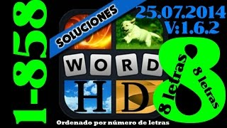 4 Fotos 1 Palabra   Todas Las Soluciones De 8 Letras (1-858)