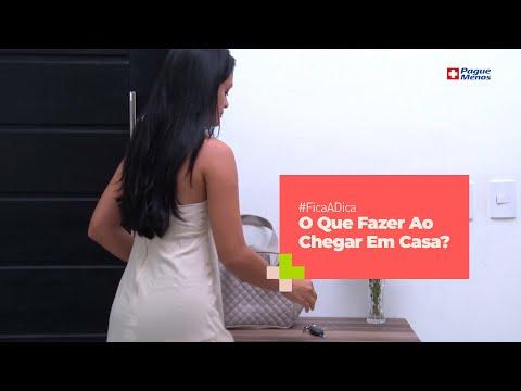 #FicaADica - Covid-19: O Que Fazer Ao Chegar Em Casa?
