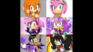 Only For Him / Only For You - Sonic Girls