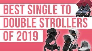 Best Single to Double Strollers 2019 ( Nuna Demi Grow   UPPAbaby Vista   Bugaboo Donkey   Coast )