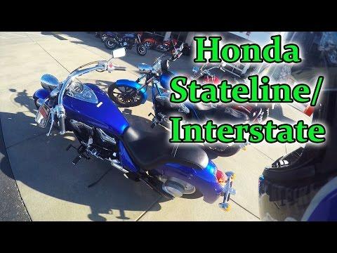 2016 Honda Stateline First Ride (Interstate)