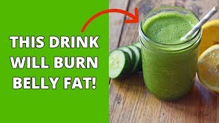 To Burn Belly Fat Drink This Before Going to Bed!