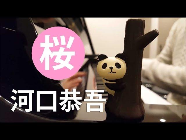 【ピアノ弾き語り】桜/河口恭吾 by ふるのーと (cover)