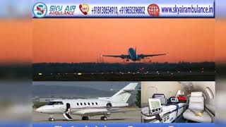 Pick Air Ambulance in Ranchi with Healthcare Specialist