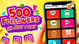 HOW TO INCREASE INSTAGRAM FOLLOWERS AND LIKES FREE (2020) | GET 500 INSTAGRAM FOLLOWERS EVERY DAY