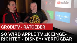 So Wird Das APPLE TV 4K Eingerichtet - Disney+ Ist Nun Auch Verfügbar. #disney #grobitv #appletv4k
