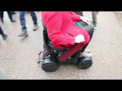 TGA: WHILL Model C - Georgina, accessible travel blogger - vlog 4 YouTube video thumbnail