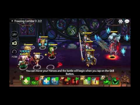 Wonder Tactics Freezing Corridor3 Lucky hit!
