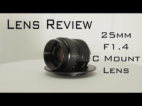 25mm F/1.4 C Mount Lens Review (BMPCC)