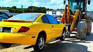 2004 Copart Flood Pontiac Sunfire Locked Engine! Will it run?