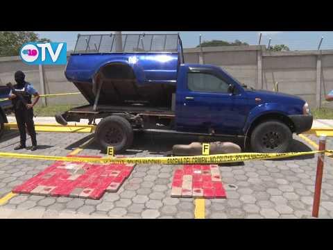 Policía Nacional incauta más de 109 kilos de cocaína en el departamento de Rivas