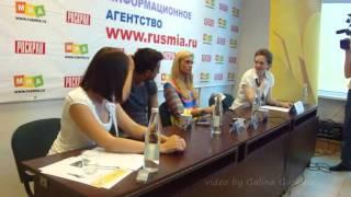 Агата Муцениеце, Павел Прилучный и Агата Муцениеце