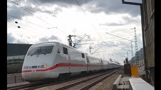 preview picture of video 'ICE 1 Richtung Karlsruhe Hbf'
