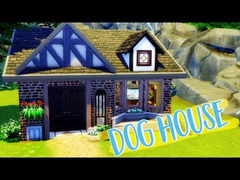 PERFECT PUP HANGOUT!! | THE SIMS 4: Cats And Dogs | DOG HOUSE SPEED BUILD